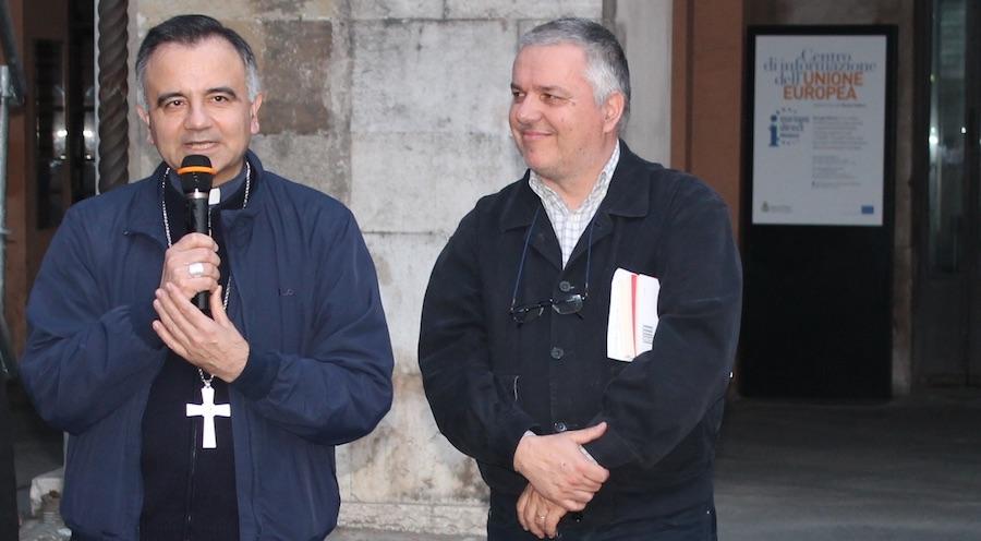 Giovanni Ramonda e Mons. Erio Castellucci
