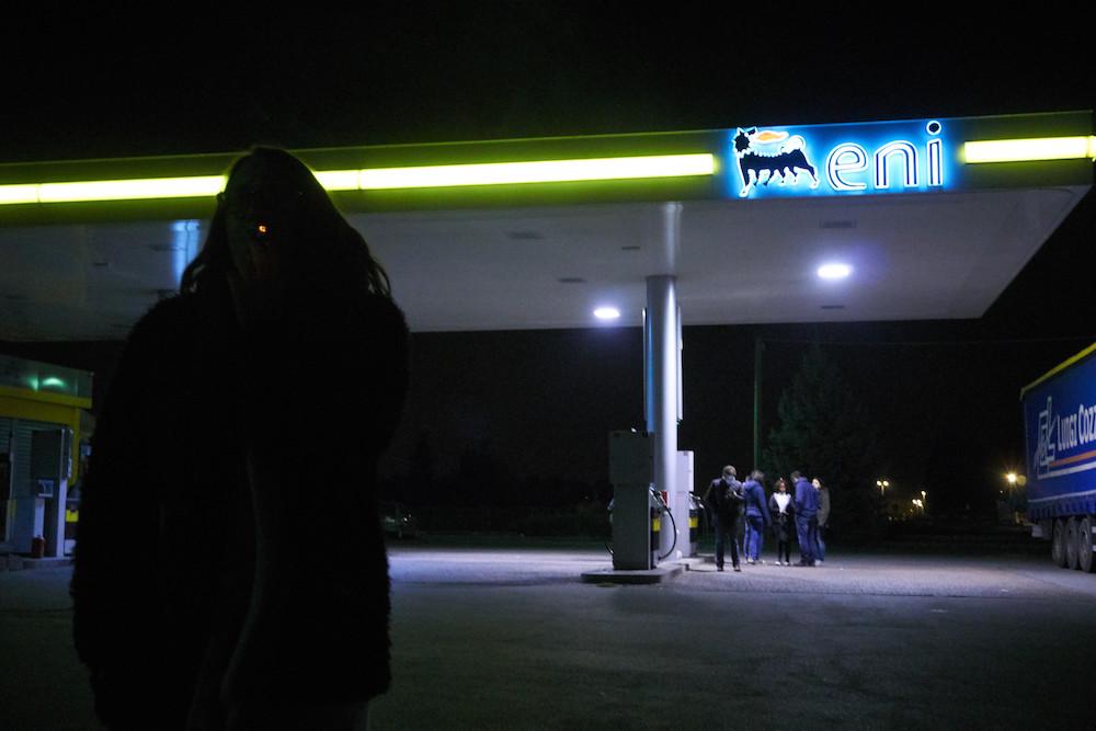 prostituta incontrata al distributore
