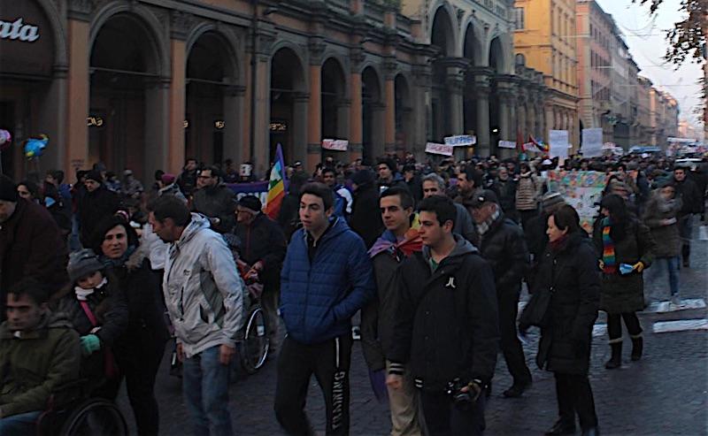 marcia per la pace a Bologna