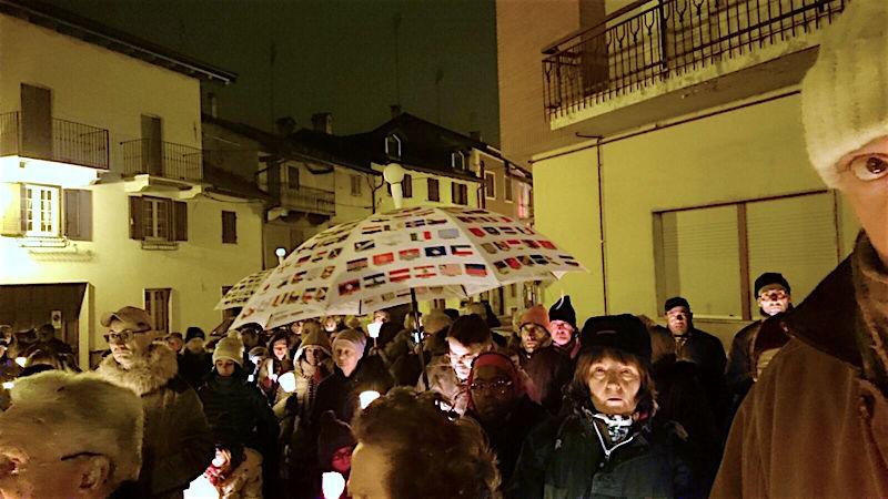 marcia per la pace a Boves(CN)