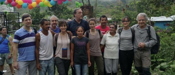 Delegazione europea nella Comunità di Pace di San José di Apartadó il 23 marzo 2017