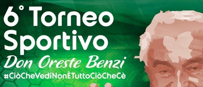 Locandina Torneo Don Oreste Benzi di Fossano - Cuneo