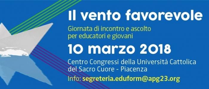 10 marzo 2018, sinodo dei giovani a Piacenza