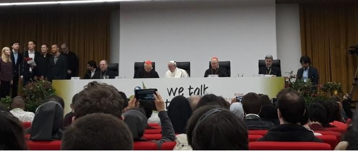 Papa Francesco al pre-Sinodo dei giovani