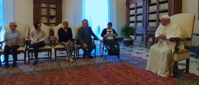 Giovanni Paolo Ramonda incontra Papa Francesco