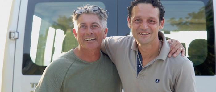I due papà delle due nuove case famiglia a Nidastore