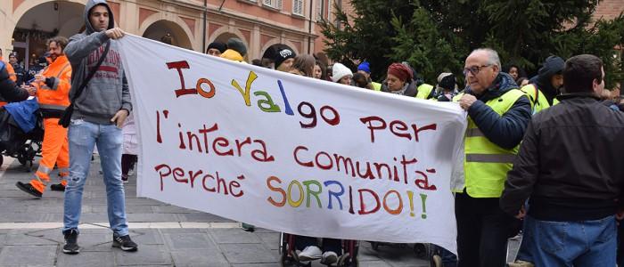 Manifestazione Io Valgo a Cesena - foto di Anna Gasparini