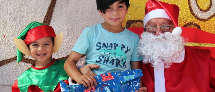 Babbo Natale arriva anche in Cile!