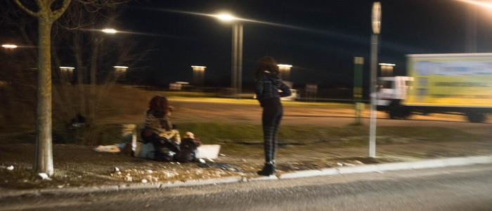 Prostitute in strada, foto di Emanuele Zamboni