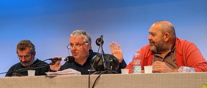 Giovanni Paolo Ramonda parla al Raduno Apg23 2019