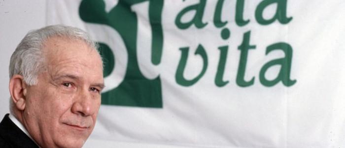 Carlo Casini, fondatore movimento per la vita
