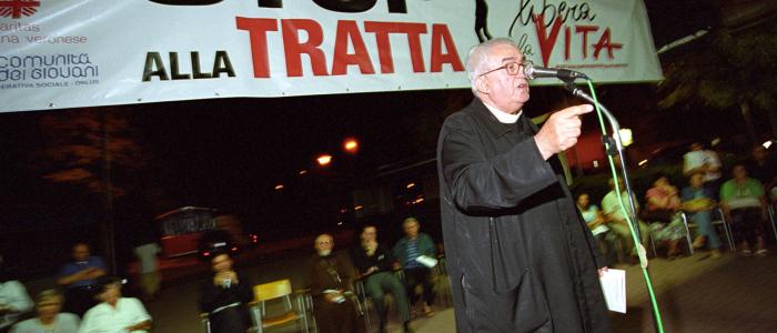 Don Oreste Benzi - Stop alla tratta delle donne