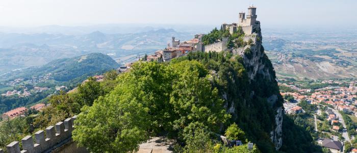 Repubblica di san Marino - torre Guaita