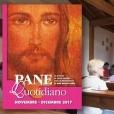 Il messalino di Pane Quotidianocon il commento alla parola di Dio del prete di strada rimineseDon Oreste Benzi. Qui nella sua Cappellina a Canazei.