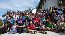 Giovani di Forlì al campo di condivisione con i poveri, Sappada, luglio 2017.