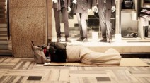 Homeless a Milano
