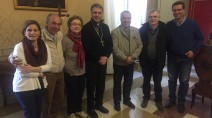 Giovanni Paolo Ramonda incontra l'Arcivescovo di Palermo Corrado Lorefice