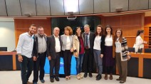 Delegazione Operazione Colomba e profughi siriani a Bruxelles