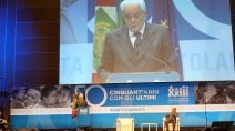 Il Presidente Sergio Mattarella in visita alla Comunità Papa Giovanni XXIII