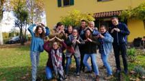 Giovani alla Capanna di Betlemme per gli homeless