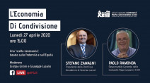 Stefano Zamagni in dialogo con Giovanni Paolo Ramonda sull'economia di condivisione