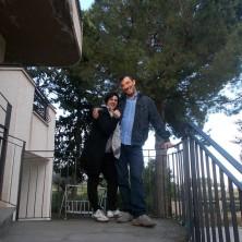 <p>Gianni e Fabiola Cantelmi, papà e mamma dellacasa famiglia Terra Promessa</p>