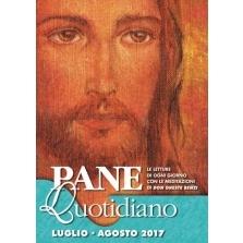 <p>Il Volto di Gesù, sulla copertina di Pane Quotidiano. La meditazione della Parola di Dio ed il Commento al Vangelo del giorno secondo Don Oreste Benzi</p>