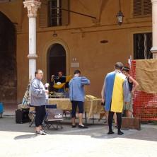 """<p>Ragazzi del Centro Diurno """"La nuvoletta bianca"""", appartenente alla cooperativa sociale La Fraternità. Foto di Riccardo Formaggi</p>"""