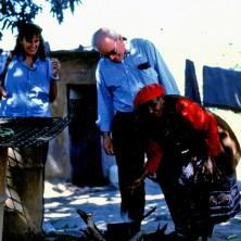 <p>Vittorio Tadei in Zambia insieme ad Elisabetta Garuti</p>