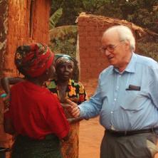 <p>Durante un viaggio nella missione in Zambia</p>