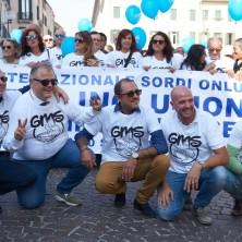 <p>Giornata mondiale delle persone sorde 2017, Padova, 20/9/17. Foto di Marco Tassinari</p>