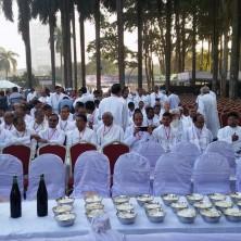 <p>L&#39;altare preparato per la messa celebrata da Papa Francesco</p>