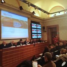 <p>Conferenza stampa per il Ministero della Pace a Roma</p>