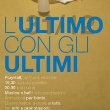 <p>L&#39;ultimo con gli ultimi, con gli homeless a Riccione</p>