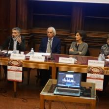 <p>Università di Padova; presentazione campagna per un Ministero della Pace, 2018</p>