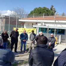 <p>Preghiera al fianco dei detenuti in sciopero della fame, Rimini</p>  <p>&nbsp;</p>