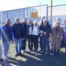 <p>Manifestazione di fronte al carcere di Saluzzo, per le pene alternative alla detenzione</p>