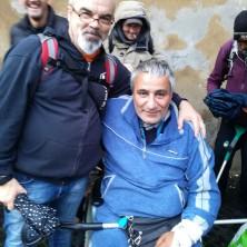"""<p>Sulla sinistra: Beppe Longo, responsabile della Casa """"Piccoli passi""""</p>"""