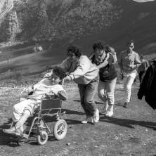 <p>«Là dove siamo noi, anche loro!» era il motto di don Benzi. Foto di Riccardo Ghinelli</p>