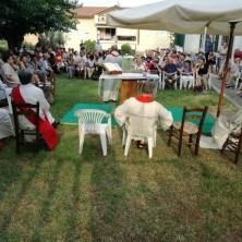 <p>Un momento della S. Messa per il 45&deg; anniversario di Casa Betania</p>