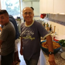 <p>Glauco Melandri, che insieme a Giorgio Pieri gestisce ora Casa Betania</p>
