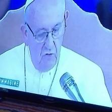 <p>La notte bianca in collegamento col Papa, al Villaggio della Gioia (Forlì)</p>