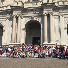 <p>Pellegrinaggio della Comunit&agrave; Papa Giovanni XXIII a Pompei. Foto di Nicoletta Pasqualini</p>