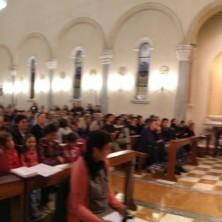 <p>Messa celebrata dal vescovo Beniamino Pizziol durante la festa della condivisione a Vicenza per i 50 anni della Comunit&agrave; Papa Giovanni XXIII</p>