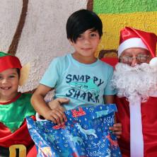 <p>Babbo Natale arriva anche in Cile!</p>