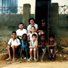<p>In Brasile, nel viaggio esplorativo del 1989 con la famiglia Tonelotto</p>