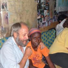 <p>In Kenya, nella casa Baba Yetu, a Soweto, baraccopoli vicino a Nairobi</p>