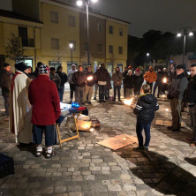 <p>Uscita di Strada a Rimini la notte della vigilia di Natale</p>