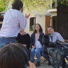 <p>TV2000, intervista in casa famiglia</p>