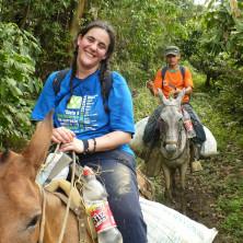 <p>Barbara Rigoli missionaria in rientro da Haiti</p>